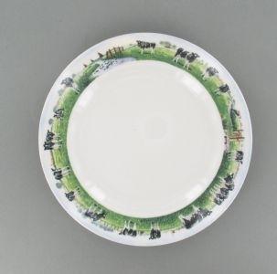 Ontbijtbord - Wiebe van der Zee