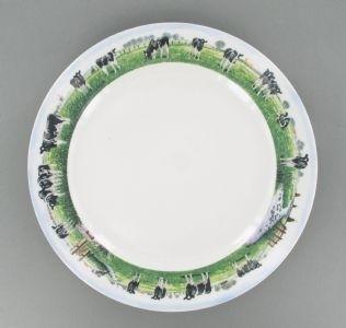 Plat bord - Wiebe van der Zee