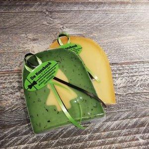 Kaas Kerstboom groen/geel