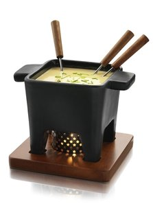 zwarte fondue set boska groot de kaasbank online webshop om kaas en delicatessen te bestellen. Black Bedroom Furniture Sets. Home Design Ideas